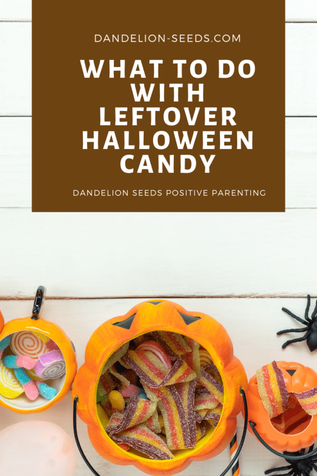 leftover halloween candy
