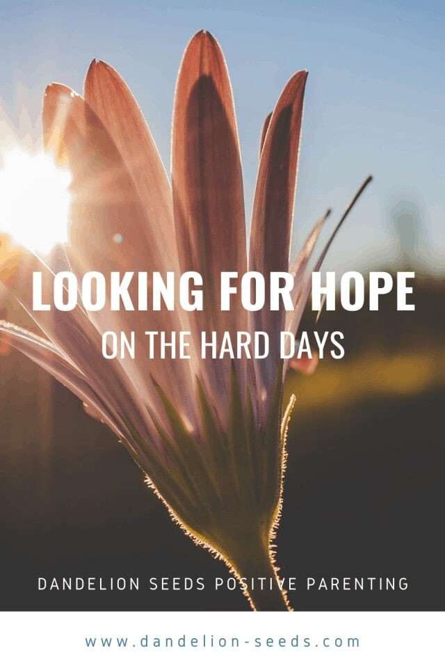 looking for hope
